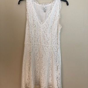 Joie Floral Lace Dress